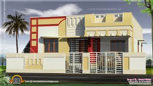 Ground Floor Front Elevation Design Small South Indian Home Design Kerala Home Design And