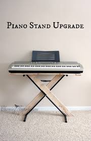 simple piano stand upgrade