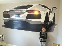 Lamborghini Aventador giant wall decal ...
