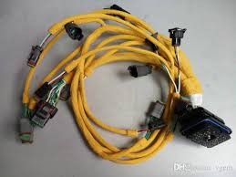 excavator harness for cat 330c engine wire for cat c 9 throttle Wire Harness Manufacturers at Strong Wire Harness