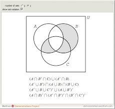 Venn Diagram And Set Operations Calculator Venn Diagram Set Notation Calculator Resume Examples