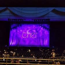 Park Theater Seating Chart View Park Theater At Park Mgm Section 304