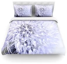 debbra obertanec lavender wish purple flower duvet cover cotton queen contemporary