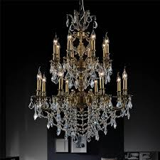 brizzo lighting s 30 imperatore traditional crystal candle with regard to popular property crystal candle chandelier prepare