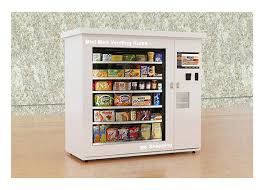 Fresh Food Vending Machine Delectable Automated Fresh Mini Mart Food Vending Machine Station Hospital