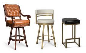 kitchen bar stools comfortable bar