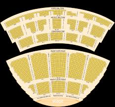 Tralf Music Hall Seating Chart Seating Chart Kleinhans Music Hall