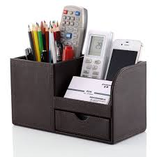 office paper holders. Wooden Struction Leather Multi-function Desk Stationery Organizer Storage Box Pen Pencil Holder Case Usage Show More Refreshing Colors And . Office Paper Holders