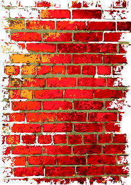 graffiti brick wall background drawing