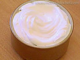 recette creme fleurette