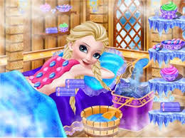 icy queen spa makeup party image