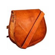 women s vintage handmade leather sling cross purse