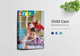 baby pamphlets 13 beautiful child care brochure templates free premium templates