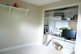 closet office. Closet Office Turning A Bedroom Into Storage Small . R