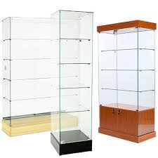 tall display cases