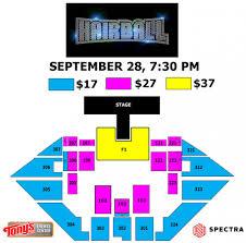Salina Bicentennial Center Seating Chart Events Hairball2019 Tonys Pizza Events Center