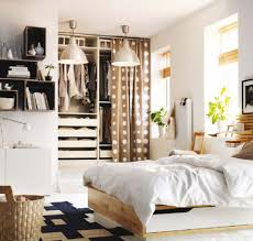 bedroom dark brown finished cherry wood platform bed ikea ideas for small rooms grey white patterned