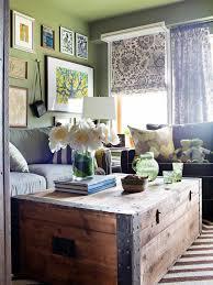 Multi Purpose Living Room A Sleeping Space Solution Hgtv