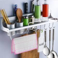 china utensil hanging rail rack storage stand kitchen utensils wall mounted tidy hooks china hanging rack pan rack