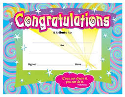 Congratulations Certificates Templates Certificates For All Ages Congratulations Award Award