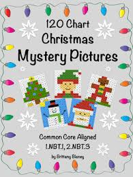 Christmas Chart Images 120 Chart Christmas Mystery Pictures 6 Pack Christmas