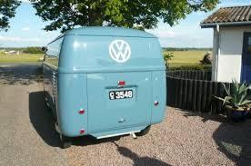 vw bus 1950 barndoor denmark