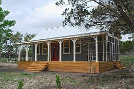 texas hill country cottages. Simple Country This Texas Hill Country Cottage By Kanga Room Systems Is A 480 Sq Ft Studio  With Intended Cottages