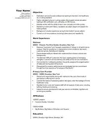 Entry Level Cna Resume Examples Examples Of Resumes Sample Resume