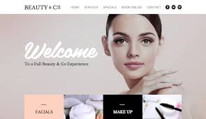 makeup artist websites templates fashion beauty website templates wix