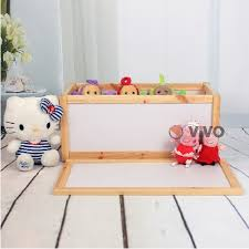 wooden toy storage unit chest box childrens toys boxes tidy room bedroom xmas
