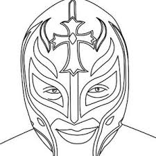 Wrestler With Two Wrestling Champion Belt Coloring Page Color Luna
