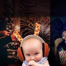 Anti-Gürültü Earmuffs Kulaklık Gürültü Önleyici Kulaklıklar Işitme Koruma  Bebekler Için Bebek Ses Geçirmez Earmuffs Çocuk