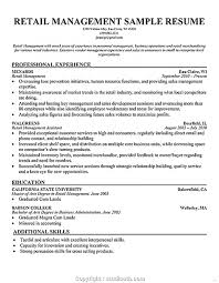 Supermarket Manager Resumes Professional Supermarket Store Manager Resume Sample Retail