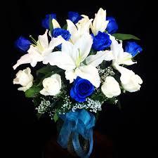 sapphire love blue roses