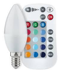 <b>Светодиодная лампа</b> Paulmann Свеча 3,<b>5Вт E14</b> 230В RGB с ИК ...