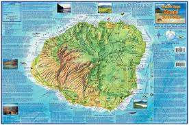 kauai hawaii adventure guide franko maps waterproof map franko