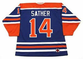 K1 Hockey Jersey Size Chart Details About Glen Sather Edmonton Oilers K1 1976 Wha Vintage Throwback Hockey Jersey