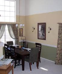 beautiful paint color ideas for dining room with chair diy dining room chair rail