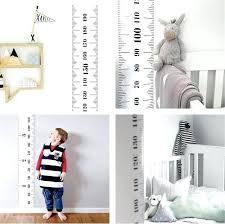 Children S Height Measurement Chart Wall Ruler Height Measurement Priceguage Co