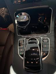 Máy Lọc Không Khí Khử Mùi Trên Ô Tô Sharp - Đừng nhìn các anh sẽ yêu em đấy  😉 Máy lọc khí khử mùi ô tô Trên xe Mecerdes GCL300 nhà