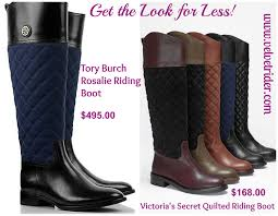 Get the Look for Less: Tory Burch Rosalie Boots | Velvet Rider & GTLFL_TB Adamdwight.com