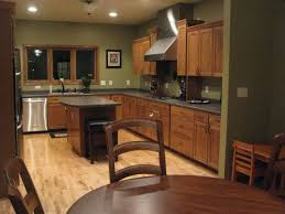 Topic For Kitchen Wall Color Ideas With Dark Oak Cabinets Kitchen
