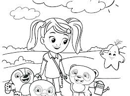 Caillou Coloring Pages Sprout Securank Innovation Coloring Book