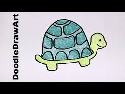 Small Picture Drawing How To Draw Cartoon Turtle Step by Step Drawing Lesson