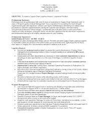 Logistics Analyst Resume Sample Logistic Resume Sales Logistics Lewesmr 1