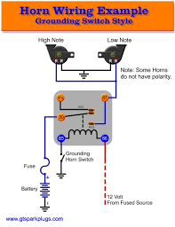 air horn wiring diagram relay wiring diagram horn wiring schematic diagram get image about