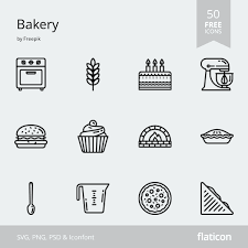 50 Free Vector Icons Of Bakery Designed By Freepik Web Bakery