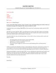 Cover Letter Examples For Resumes Heegan Times