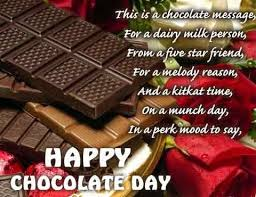 chocolate day quotes for friends. Chocolate Day Wishes Messages SMS Quotes And Images On For Friends