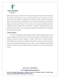 sample report on business decision making by instant essay writing  25
